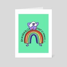 Ca va ben Aller - Art Card by Nosy Dick