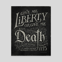 Give Me Liberty - Canvas by The Union Archive