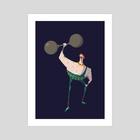 The circus 3 - Art Print by aya marzouk