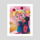 Sailor Scout - Art Print by Jeslyn Sebold