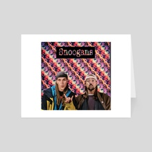 Snoogans - Under a Microscope - Jay and Silent Bob  - Art Card by ArtofDas