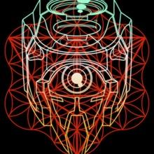 Evangeometricon - Unit 00, the Flower of Life - Canvas by Kael McDonald