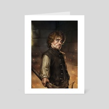 Tyrion - Art Card by Fernanda Suarez