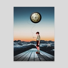 Child in Time - Canvas by Kostis Pavlou