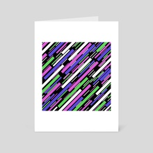 Warp Speed - Art Card by Philip Campbell