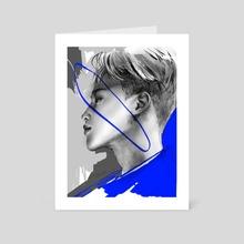 Jimin - Art Card by Shannon