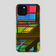 Montreal Rainbow - Phone Case by Linden Li
