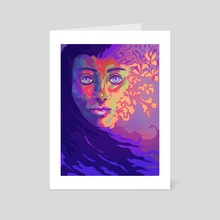 Cosmology - Art Card by Jessica McCottrell