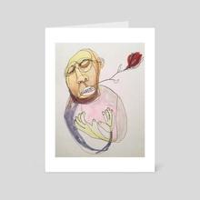 Love Drugs 2 - Art Card by e.p. alexander
