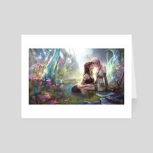 Lightning and Fang - Art Card by Viktoria Gavrilenko