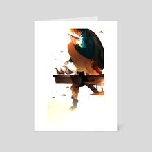 Quiet Time - Art Card by Noun Solstial