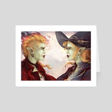 Taako & Lup - Soulmates - Art Card by Gin