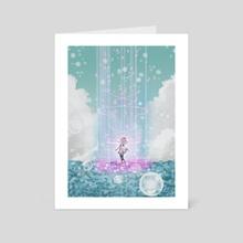 Kanonno Earhart from Tales of The World Radiant Mythology - Art Card by Deny Saputra