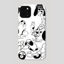 PAIN - Phone Case by Lomaho Kretzmann