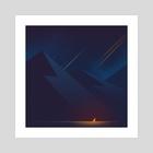 Meteor  - Art Print by Elise Fachon