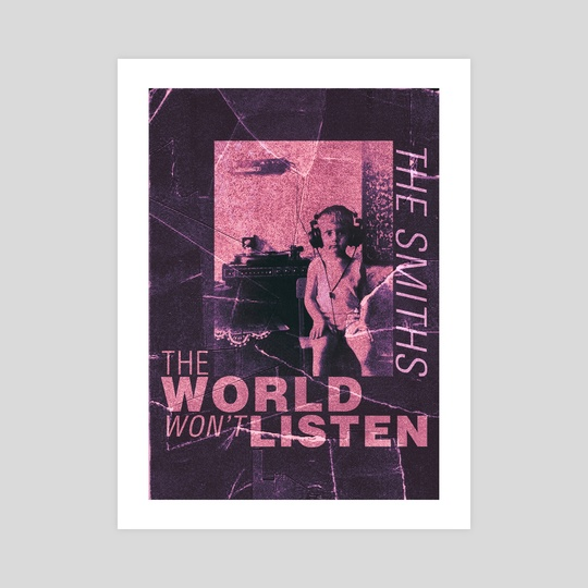 The Smiths THE WORLD WON'T LISTEN by Flammen