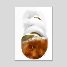 Highlands - Acrylic by Rich Gemmell