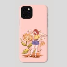 Dandelion  Girl - Phone Case by Hyemin Yoo