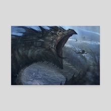 Leviathan - Canvas by Jesse Keisala