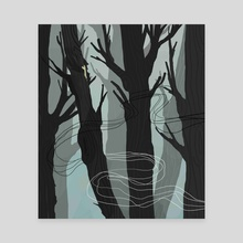 Whispering Forest - Canvas by Adrian James