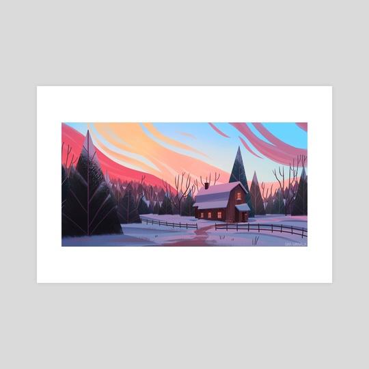 Pine Farm by Gina Garavalia
