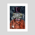 Innsmouths  fanciest lad  - Art Print by Josephine  Estey