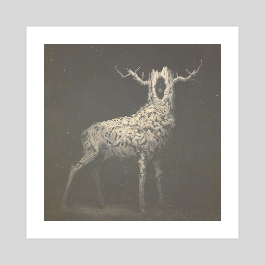 Deer by Konstantin Kostadinov