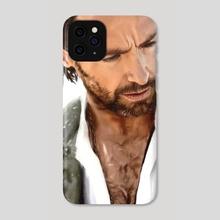 Hugh Jackman - Phone Case by Liliana Corradini