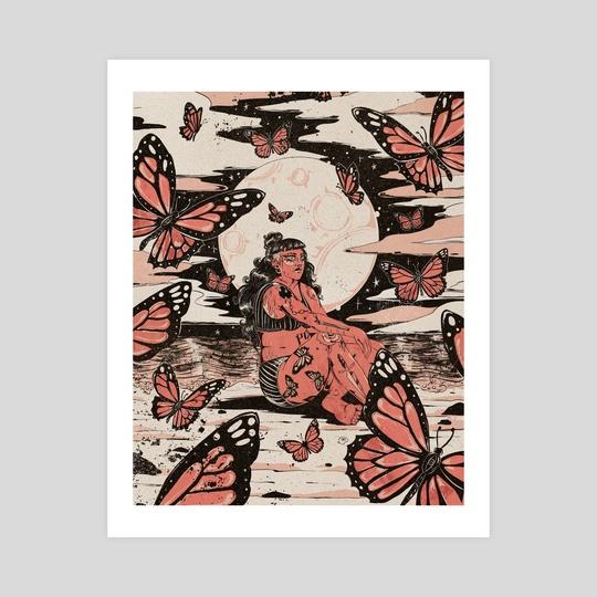 Butterfly Beach by Evangeline Gallagher