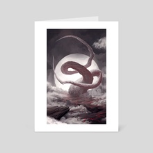 Faith Over Sanity - Art Card by Lorant Toth