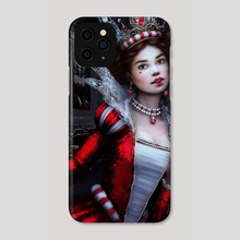 Killer Queen of Hearts - Phone Case by Tanya Varga