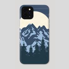 Blue Moon - Phone Case by Imagonarium