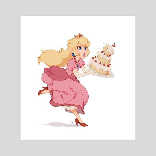 Princess Peach by Luisa Rafidi