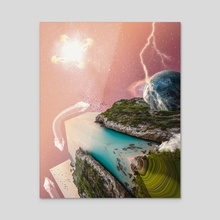 Multiverse - Acrylic by JuanVec