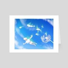 Dandelions - Art Card by Alfred Manzano