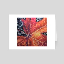 Autumn Repose II - Art Card by Hope Martin
