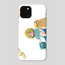 Bros for Life - Phone Case by kirstie belle d