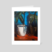 White pot - Art Card by van_dog