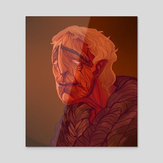 Old Elf by Alice Gorbunova