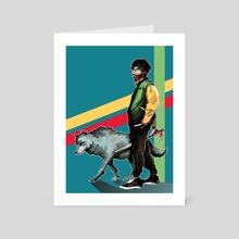 Wolf Boys - Art Card by Maverick Chavaria & Cecilia Salisbury