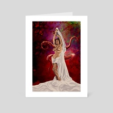 Princess of Grief - Art Card by Andrew Rose