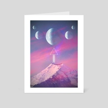 ROW - Art Card by Laberintos de Imagen