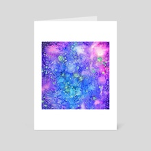 Cosmic souls - Art Card by Nikita Jariwala