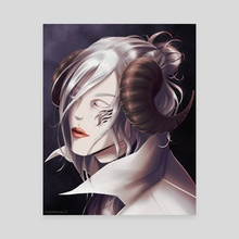 Killian the devil - Canvas by mollythemole