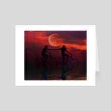 Divine love - Art Card by Lia PS Art