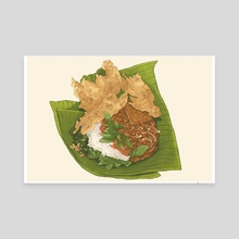 Nasi Pecel - Canvas by Fajar Kurniawan