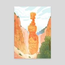 Bryce Canyon National Park - Canvas by Max Dlabick