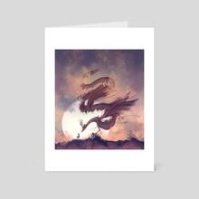 Dream Dragon - Art Card by Arthur Tribuzi