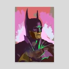 batmanC - Canvas by Musoka  Benjamin