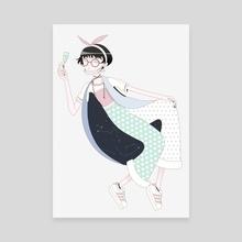 K - Canvas by Yee Hun